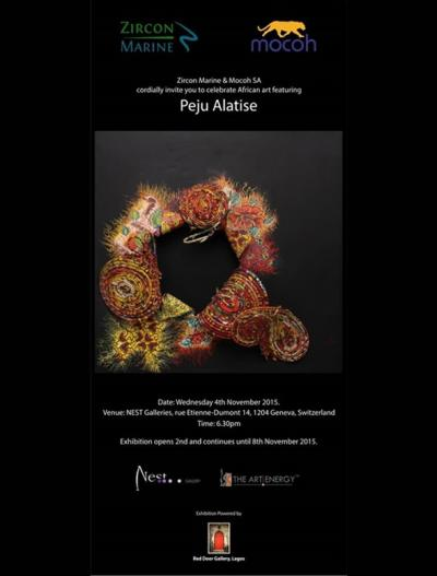 Red Door Gallery in collaboration with Zircon Marine and mocoh anchor an exhibition of the famous Peju Alatiseu0027s works at NEST Gallery on Monday 2nd to ... & Red Door Gallery | Art Gallery ! Lost - Peju Alatise